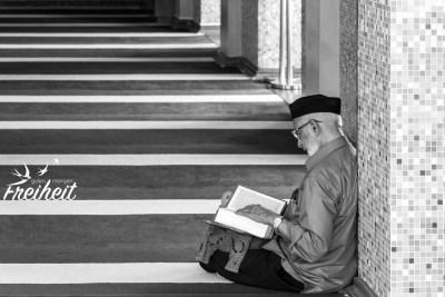 Gläubiger in der Abdul Gaffoor Moschee