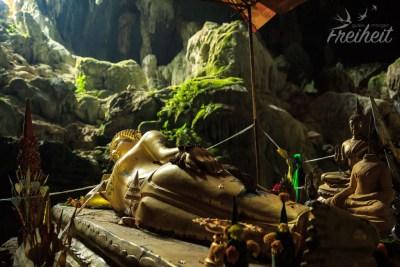 Krabbenhöhle - noch mal liegender Buddha