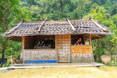 Pha Tao Höhle - Tickethäuschen