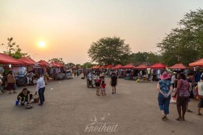 Nachtmarkt für vorwiegend Einheimische