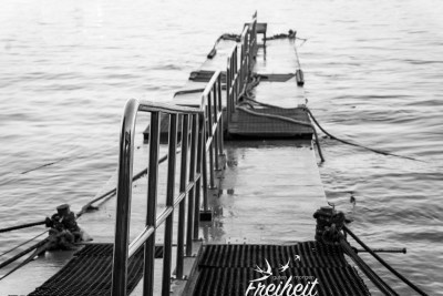 Speedboat-Anlegestelle