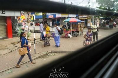 Busfahrt nach Trincomalee
