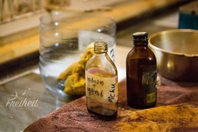 Öle über alles und jeden Flecken unserer Haut ;-)