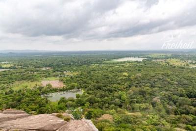 Aussicht vom Pidurangala Rock