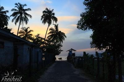 Uppuveli Strand im Morgenlicht