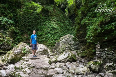 Auf dem Weg zum Wasserfall Kozjak