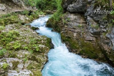 Fluss Radovna