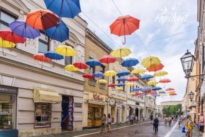 Einkaufsstraße Banja Luka