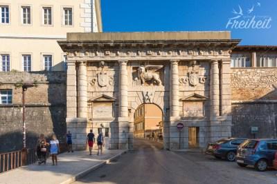 Landtor zur Altstadt von Zadar