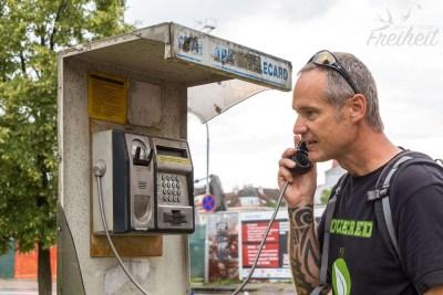 Ein funktionierendes (!), öffentliches Telefon