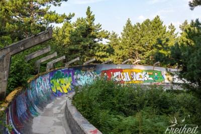 Alte Bobbahn von 1984