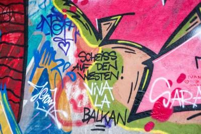 Geschmackloses Graffiti