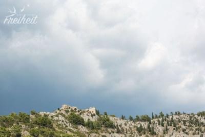 Unser Ziel für morgen: die Festung Stjepan grad
