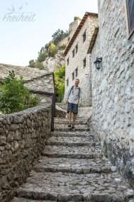 Auf dem Weg zur Festung