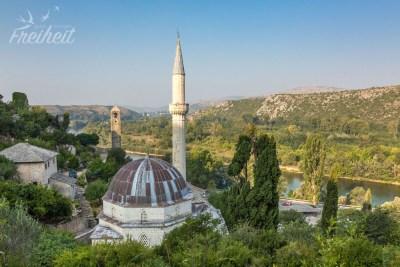 Moschee Šišman Ibrahim-Paša aus dem 16. Jahrhundert
