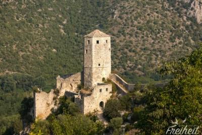 Blick zum Festungsturm