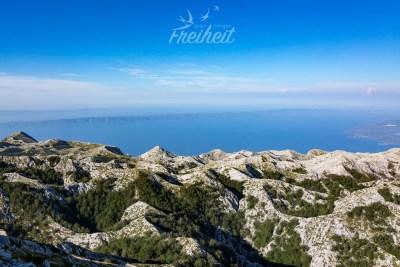 Berge und Meer - ein schöner Kontrast