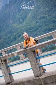 Auf der alten Tara Brücke