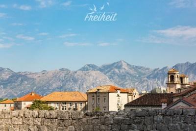 Blick über die Stadtmauer