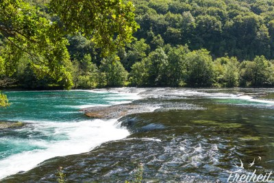 Der Fluss Una im Nationalpark