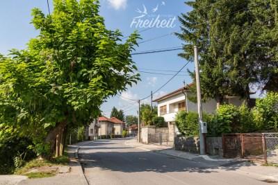 Kleine Seitenstraße in Bihać