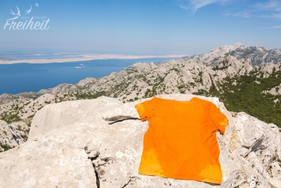Carstens T-Shirt kennt kaum noch trockene Stellen :-P