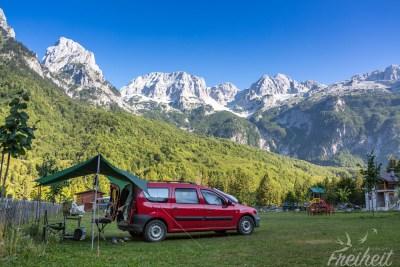 Fantastisch gelegener Campingplatz - nur leider ohne Service