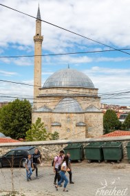 42m hoch ist das Minarett der Sinan Pascha Moschee