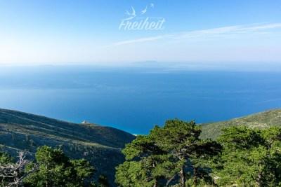Blick auf das Ionische Meer