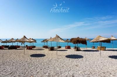Ein Hauch von Südsee in Albanien