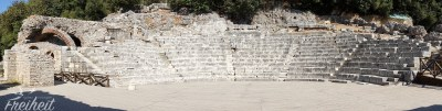 Amphitheater in Butrint