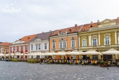 Viele Gebäude stammen aus der Habsburger Zeit als die Stadt noch zu Österreich-Ungarn gehörte