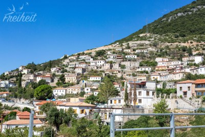 Ortschaft am Llogara Pass