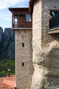 Bevor es die Brücke ins Frauenkloster gab musste man einige Leitern hochklettern