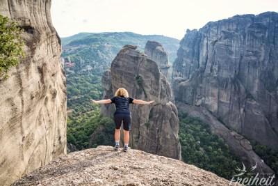 Nur fliegen ist schöner ;-) (Keine Angst, unter der Felskante kommt noch ein Felsplateau, keine Absturzgefahr)