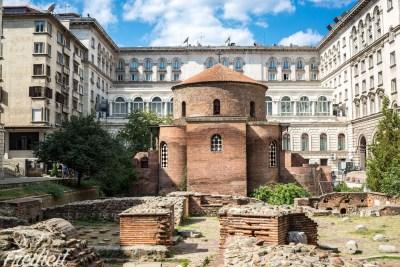 Ältestes Gebäude der Stadt: Rotunde des Heiligen Georg aus dem 4. Jh.