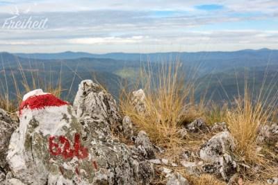 Aussichtspunkt Mali Strbac 626m
