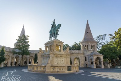 Hoch zu Ross der erste König von Ungarn - Stephan I