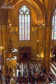 Die Kanzel der Matthiaskirche