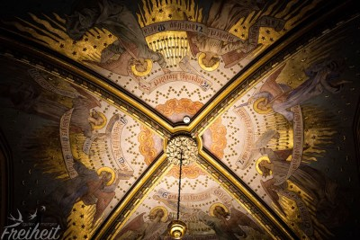 """Decke des Lieblings""""raumes"""" von Sissi in der Matthiaskirche"""