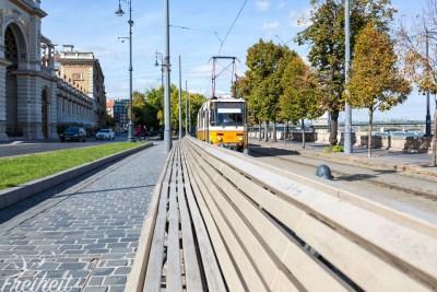 Das öffentliche Verkehrssystem funktioniert sehr zuverlässig