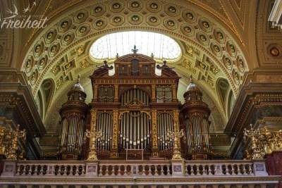 Gigantische Orgel