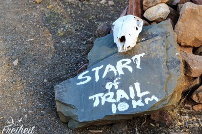 Start des Olive Trail