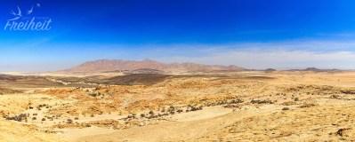 Aussicht von der Blutkuppe auf die Namibwüste