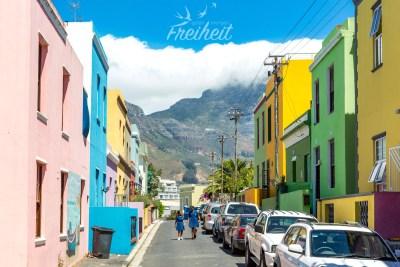 Bo-Kaap ist das mit Abstand bunteste Viertel der Stadt