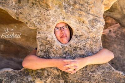 Steine wollen auch einmal umarmt werden :)