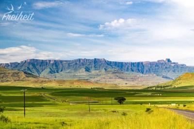 Auf dem Weg zum Royal Natal Nationalpark