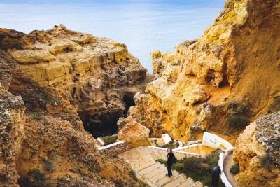 Algar Seco - eine Felslandschaft an der Küste