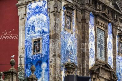 Azulejos - Bilder aus blauen Kacheln