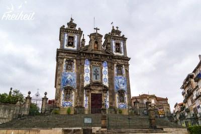 Viele Kirchen sind mit Azulejos geschmückt